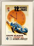 12 Heures de Paris Print by Geo Ham