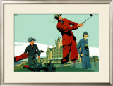 Cruden Bay Framed Giclee Print by Frank Newbould