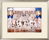 Bros. Marx Strongman Framed Giclee Print