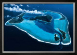 Polynesie, Bora-Bora Poster by Georges Bosio