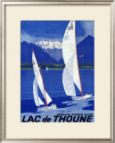 Lac de Thoune Framed Giclee Print