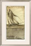 Shimmering Seas I Limited Edition Framed Print by Ethan Harper