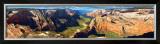 Zion National Park, Zion Canyon Art by James Blakeway