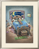 Golf Lover Framed Giclee Print by Gary Patterson