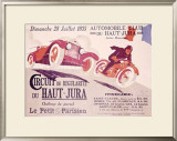 Circuit du Haut, Jura Framed Giclee Print by Joe Bridge