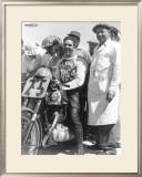 British BSA Racer Framed Giclee Print