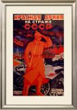 Cartel Ucraniano Sobre Framed Giclee Print