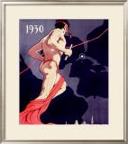 Segundos Juegos Deportivos, Habana Framed Giclee Print by M. Vega
