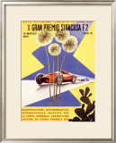 Gran Premio Siracusa Framed Giclee Print
