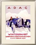 A.D.A.C. Framed Giclee Print by  Romer