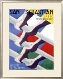 San Sebastian Framed Giclee Print by  Iasla