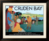 LNER, Cruden Bay, c.1930 Framed Giclee Print by Tom Purvis