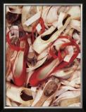 サテンの靴 高品質プリント : ハーベイ・エドワーズ