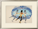 Lake Placid 1980 Figure Skater Posters by  Wheeler