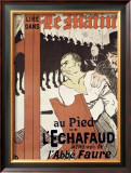 Le Matin au Pied de l'Echafaud Framed Giclee Print