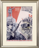 Leninist Communist Party Framed Giclee Print