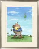 Birdie Framed Giclee Print by Gary Patterson