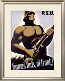 PSU, Homes Forts, Al Front! Framed Giclee Print