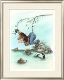 Art of Casting Framed Giclee Print by Gary Patterson