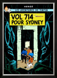 Vol 714 pour Sydney, c.1968 Prints by Herg&#233; (Georges R&#233;mi) 