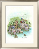 Beginner's Luck Framed Giclee Print by Gary Patterson
