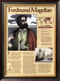 Great Explorers - Ferdinand Magellan Poster