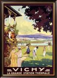 Vichy Framed Giclee Print