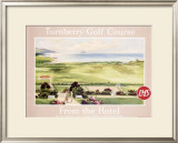 London Midland Scotland Railway Turnberry Golf Course Framed Giclee Print