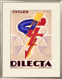 Cycles Dilecta Framed Giclee Print