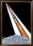 Coppa della Tre Venezie Framed Giclee Print by Primo Sinopico