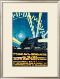 3eme Grand Prix Framed Giclee Print