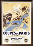 Coupes de Paris Framed Giclee Print by Geo Ham