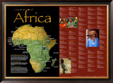 Countries Of Africa Prints