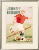 Journees du Prisonnier Framed Giclee Print