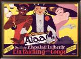 Berliner Eispalast Framed Giclee Print by Louis Oppenheim