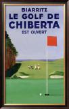 Biarritz Golf Chiberta Framed Giclee Print