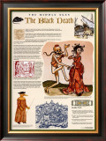 The Middle Ages - The Black Death Print