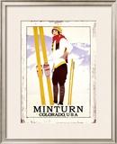 Minturn, Colorado Framed Giclee Print