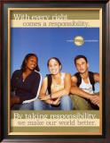 Taking Responsibilty Posters