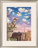Long Shot Framed Giclee Print by Gary Patterson