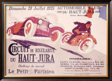 Circuit du Haut, Jura Framed Giclee Print by Joe Bridge