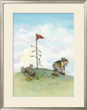 It&#39;s Only A Game Framed Giclee Print by Gary Patterson