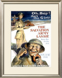 The Salvation Army Lassie Framed Giclee Print