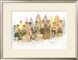 Surf's Up! Framed Giclee Print by  Himani