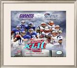 Super Bowl XLII Giants vs. Patriots Framed Photographic Print