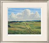 St. Andrews 8th - Short Limited Edition Framed Print by Peter Munro