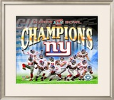 New York Giants - Super Bowl XLII Framed Photographic Print
