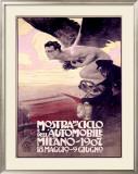 Mostra del Ciclo, Milano, 1907 Framed Giclee Print by Leopoldo Metlicovitz