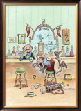 19th Hole Framed Giclee Print by Gary Patterson
