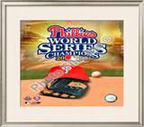 2008 Philadelphia Phillies World Series Champions Framed Photographic Print